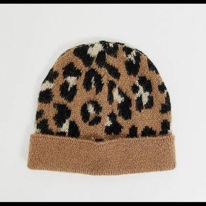 ASOS cheetah beanie